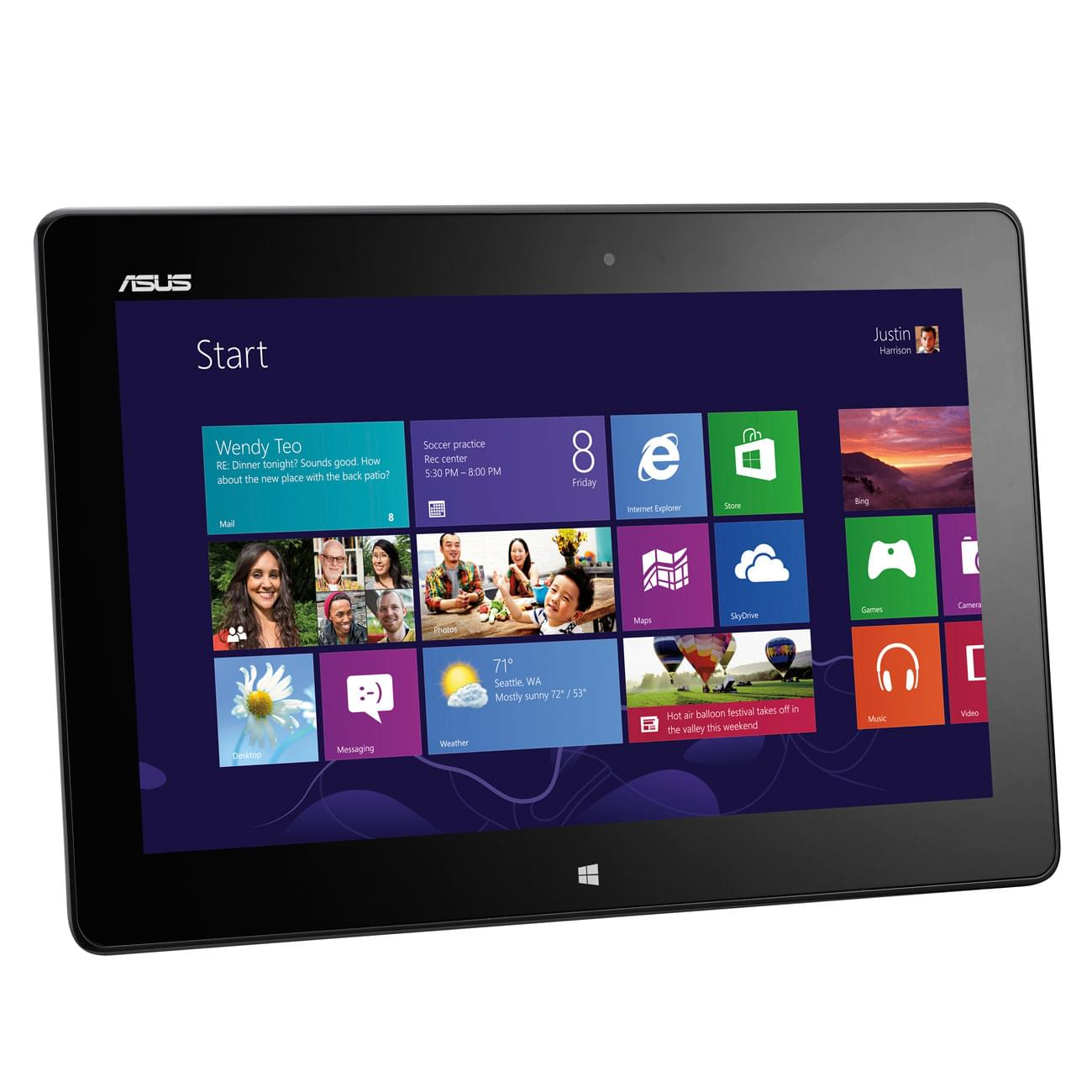 Asus VivoTab ME400C-1B016W Noir - Tablette tactile Asus - 0