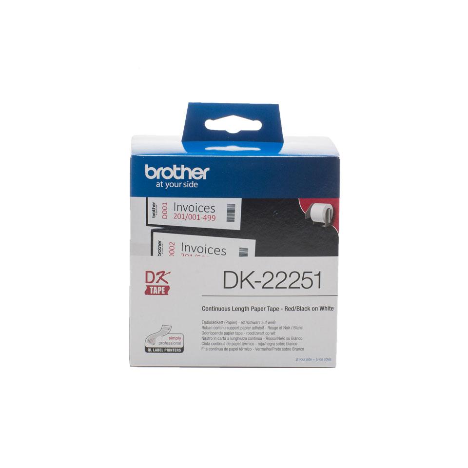 Ruban continu - DK22251 pour imprimante  Brother - 0