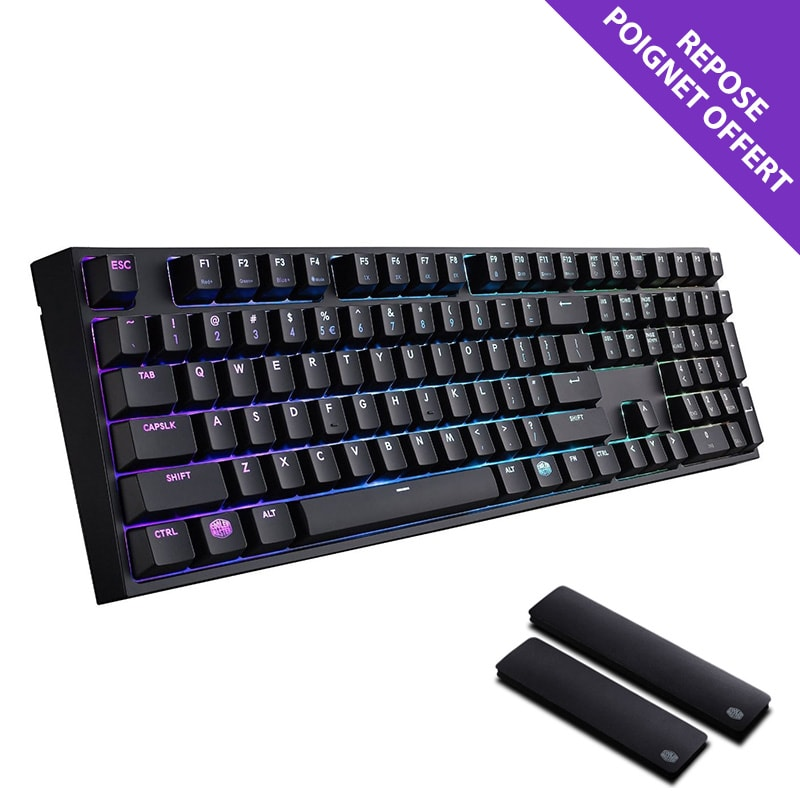 Cooler Master MasterKeys PRO L RGB MX Brown - Clavier PC - 0
