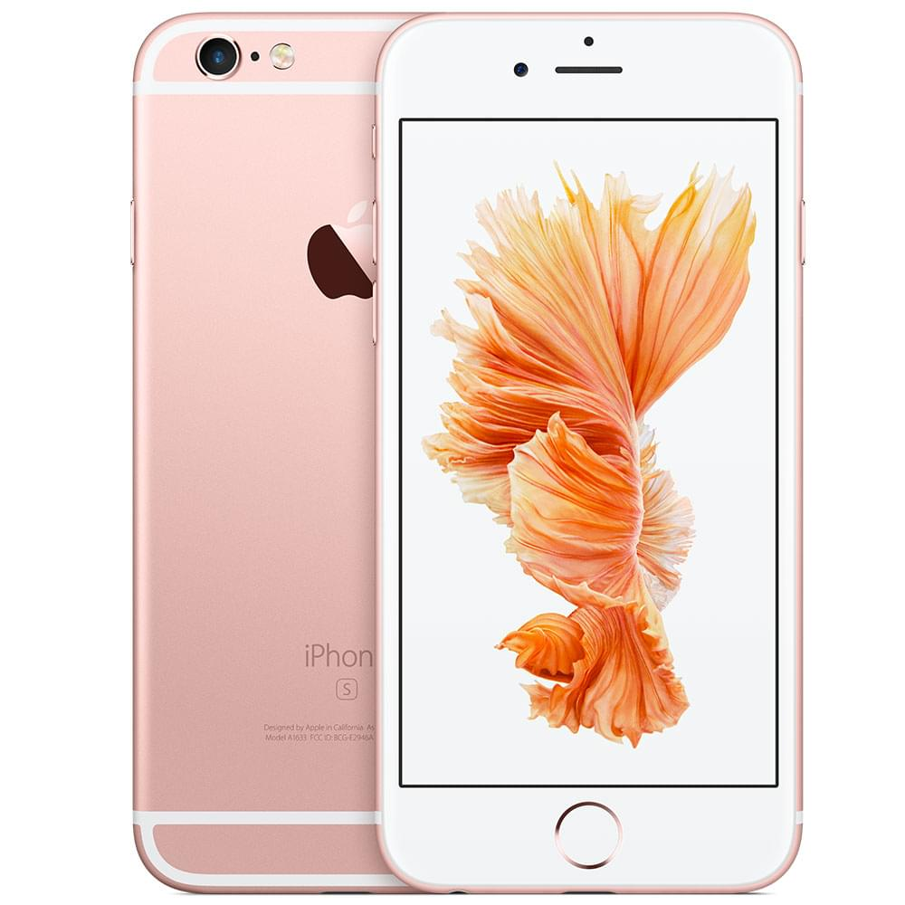 Apple iPhone 6s 16Go Or Rose - Téléphonie Apple - Cybertek.fr - 0