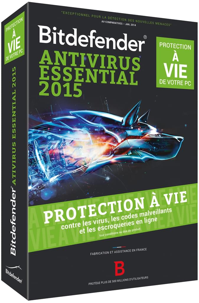 Bitdefender Antivirus Essential 2015 (B-FBDAVE5XIP001) - Achat / Vente Logiciel sécurité sur Cybertek.fr - 0