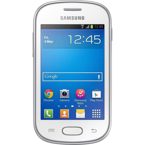 Samsung Galaxy Fame Lite Blanc S6790 (GT-S6790PWNXEF) - Achat / Vente Téléphonie sur Cybertek.fr - 0
