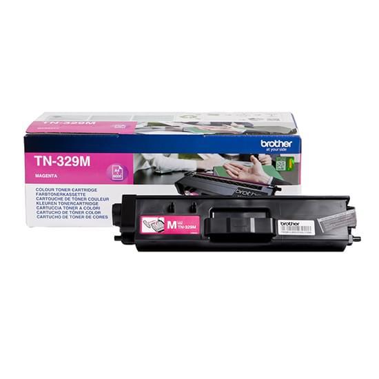 Toner Magenta TN-329M 6000p. pour imprimante  Brother - 0