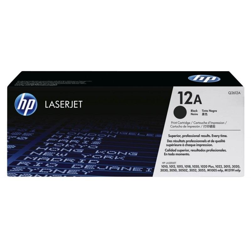 Consommable imprimante HP Toner Q2612A