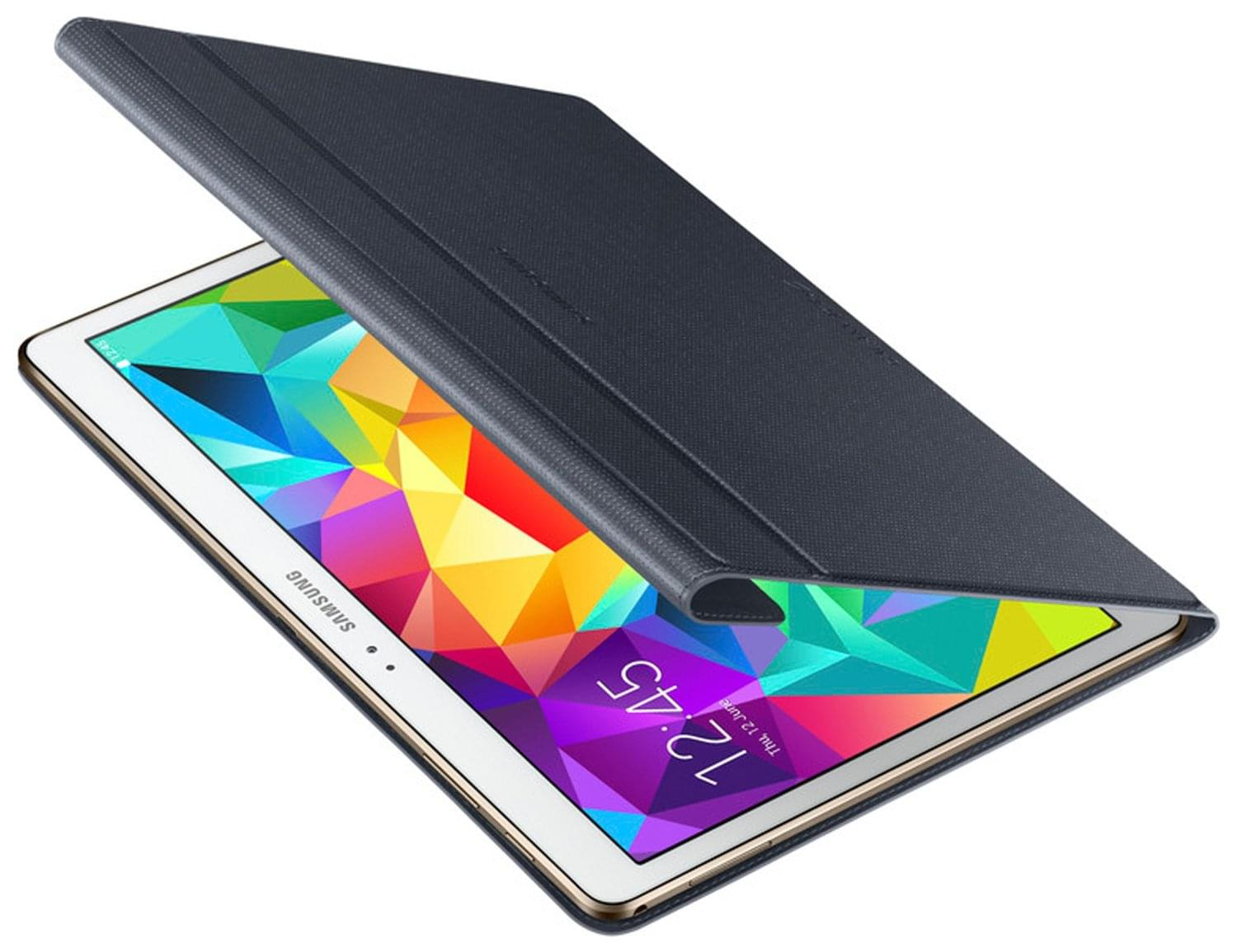 "Book Cover Galaxy Tab S 10.5"" Noir EF-BT800B - 0"