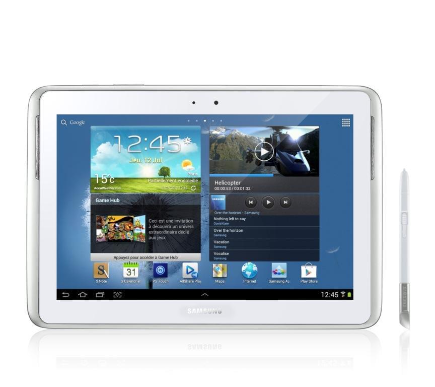 """Samsung Galaxy Note 10.1 N8020ZWAXEF -Blanc/16Go/10.1""""/4G (GT-N8020ZWAXEF) - Achat / Vente Tablette Tactile sur Cybertek.fr - 0"""