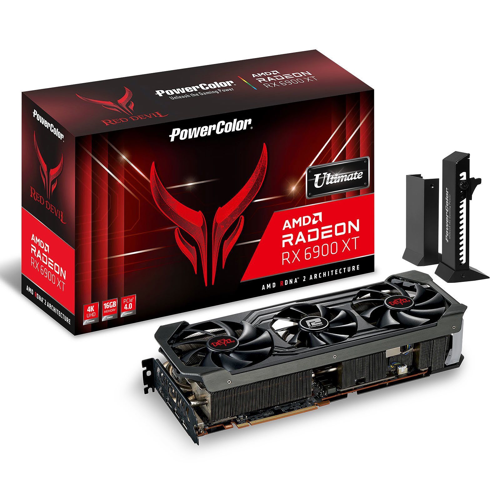 PowerColor RED DEVIL RX 6900XT ULTIMATE 16GB - Carte graphique - 0