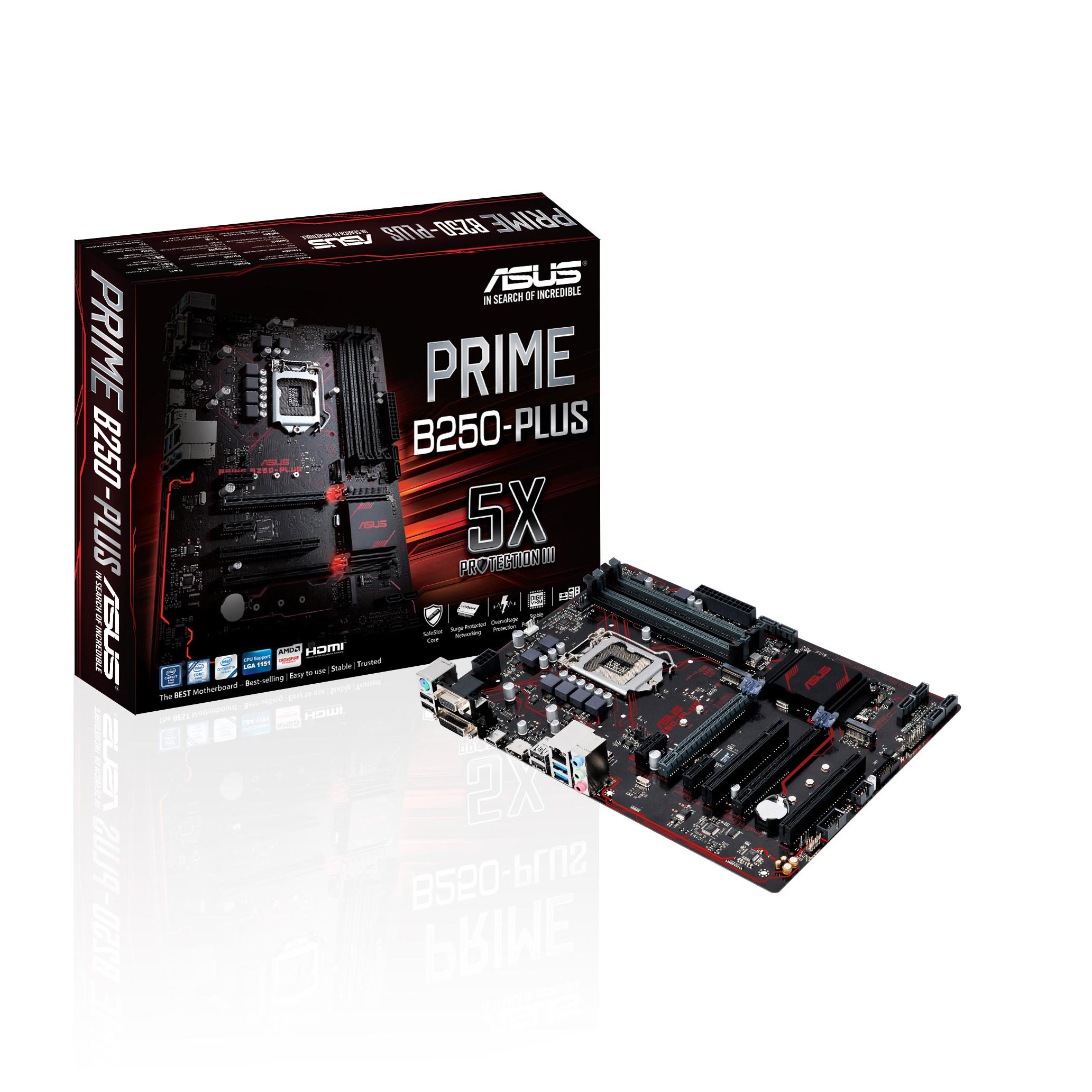 Asus PRIME B250 PLUS ATX DDR4 - Carte mère Asus - Cybertek.fr - 0