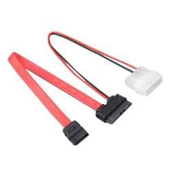 Compatible Mini Sata monobloc vers Sata pour optique Slim (AK-CB050) - Achat / Vente Connectique PC sur Cybertek.fr - 0