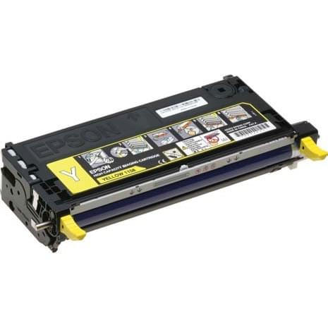 Epson Toner Jaune C13S051162 Std pour aculaser (C13S051162) - Achat / Vente Consommable Imprimante sur Cybertek.fr - 0