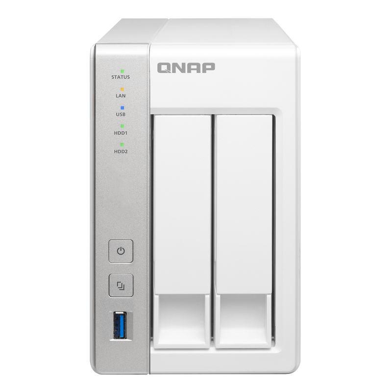 Qnap TS-231+ - 2 HDD - Serveur NAS Qnap - Cybertek.fr - 0
