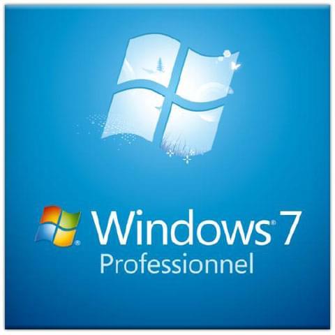 Microsoft Windows 7 Edition Professionelle 32b COEM - Logiciel système exploitation - 0