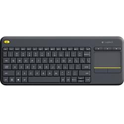 image produit Logitech Wireless Touch K400 Plus Black Cybertek
