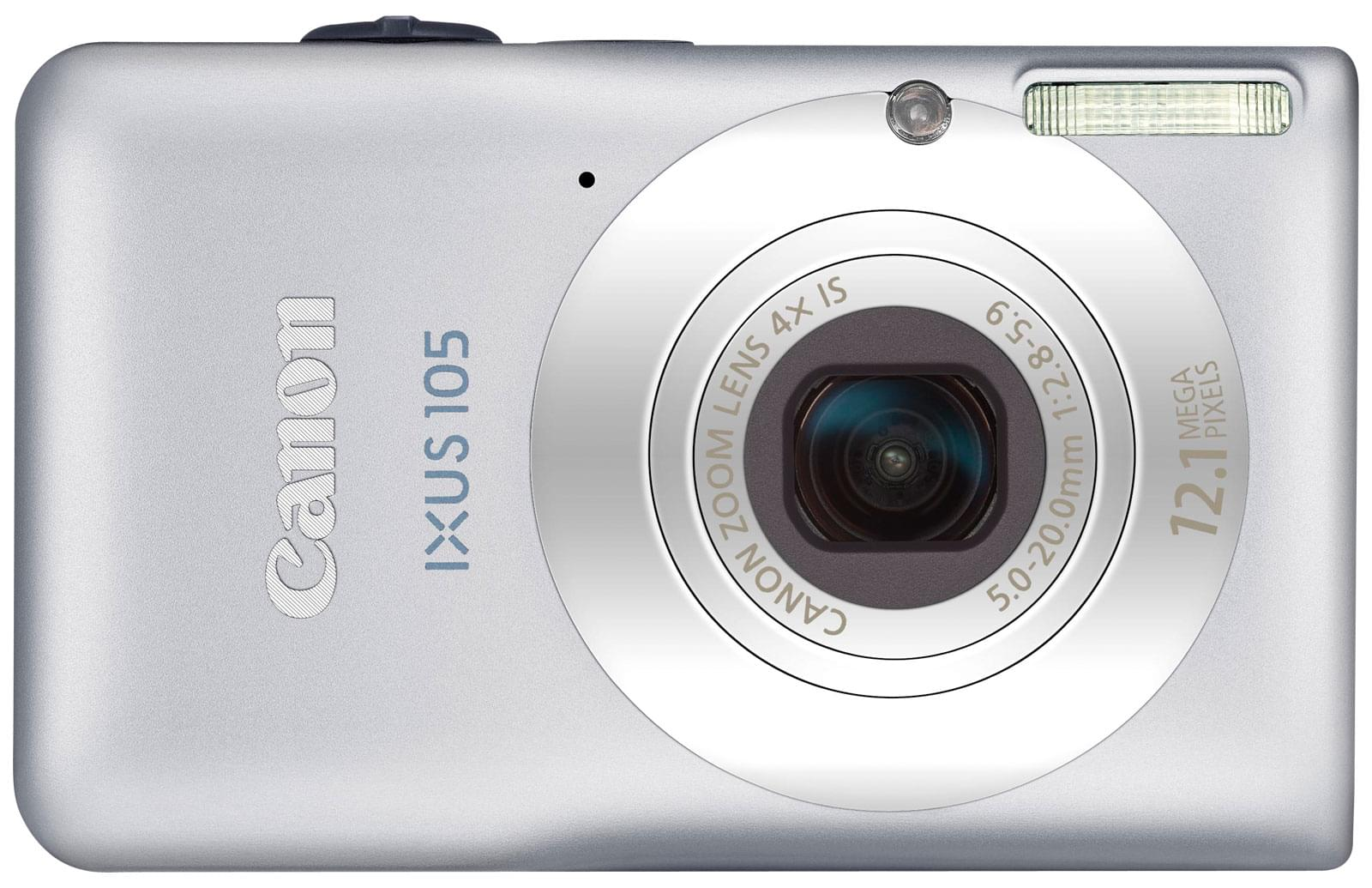 "Canon Digital Ixus 105 Silver - 12.1MP/4X/2.7""/SD - Table de mixage - 0"