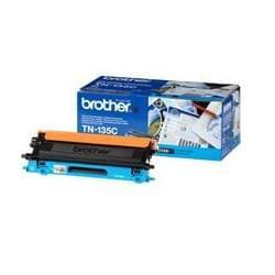 Toner TN135C Haute capacité 4000p Cyan pour imprimante Laser Brother - 0