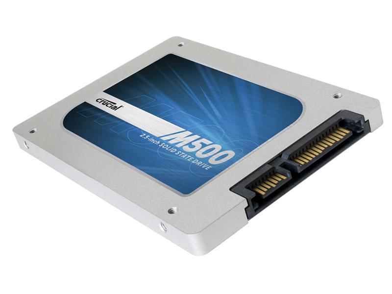 Crucial 480Go SSD M500 CT480M500SSD1 SATA 6 (CT480M500SSD1) - Achat / Vente Disque SSD sur Cybertek.fr - 0