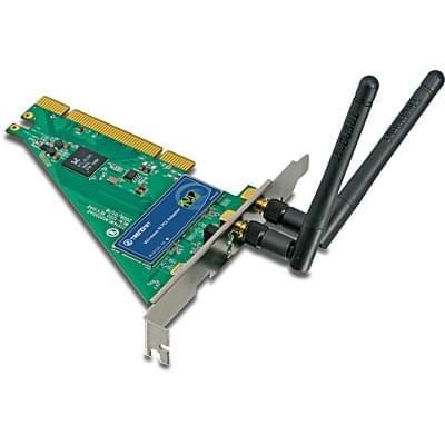 TrendNet PCI WiFi 802.11N  TEW-643PI (300MB) (TEW-643PI) - Achat / Vente Carte Réseau sur Cybertek.fr - 0