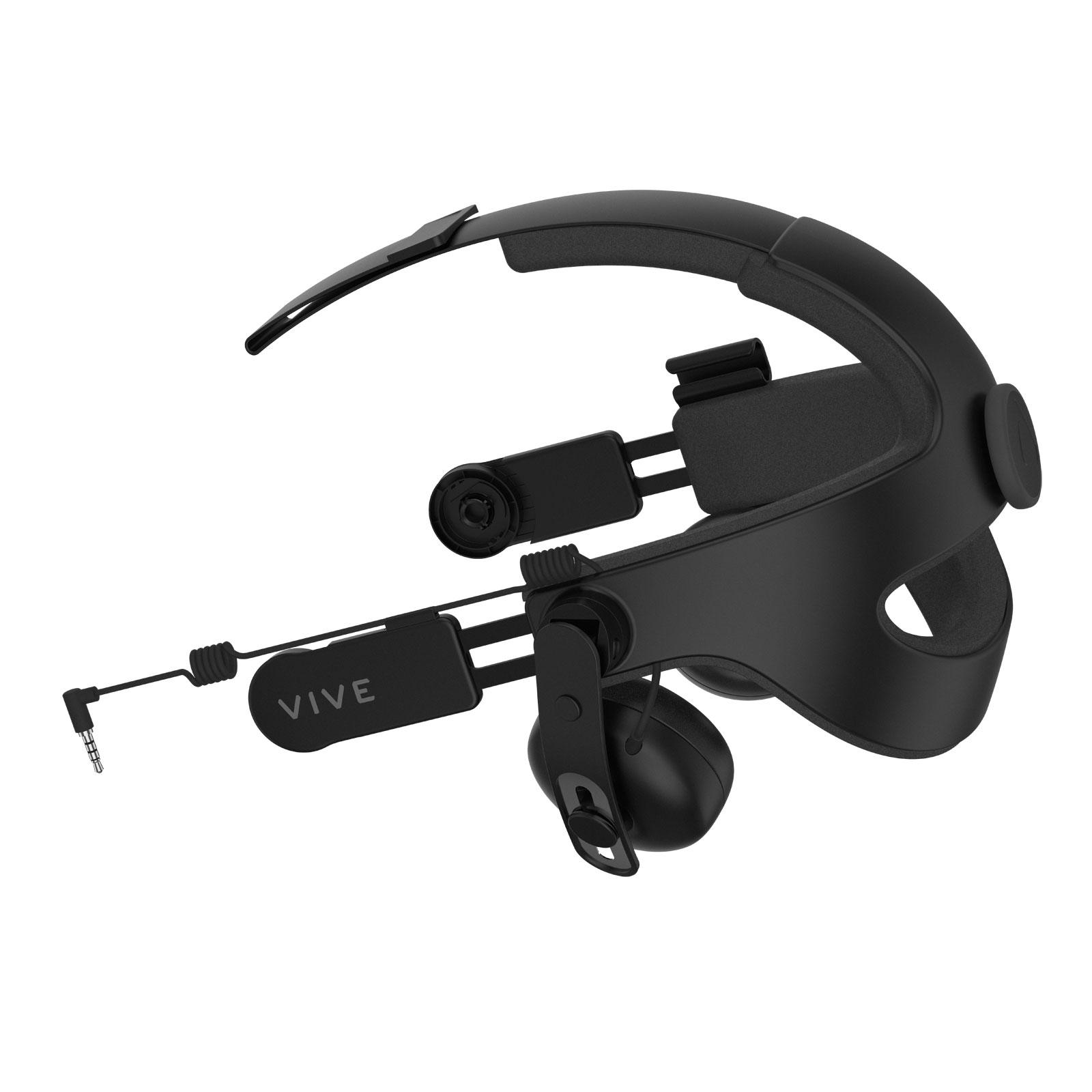 HTC Serre tête avec Audio Deluxe (99HAMR002-00) - Achat / Vente Objet connecté / Domotique sur Cybertek.fr - 0