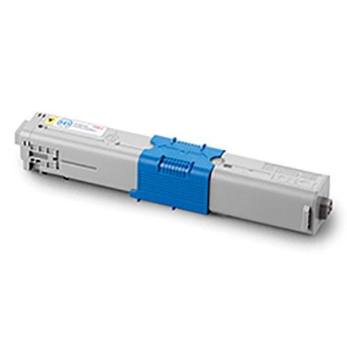 Toner Jaune 2000 Pages - 44469704 pour imprimante  Oki - 0