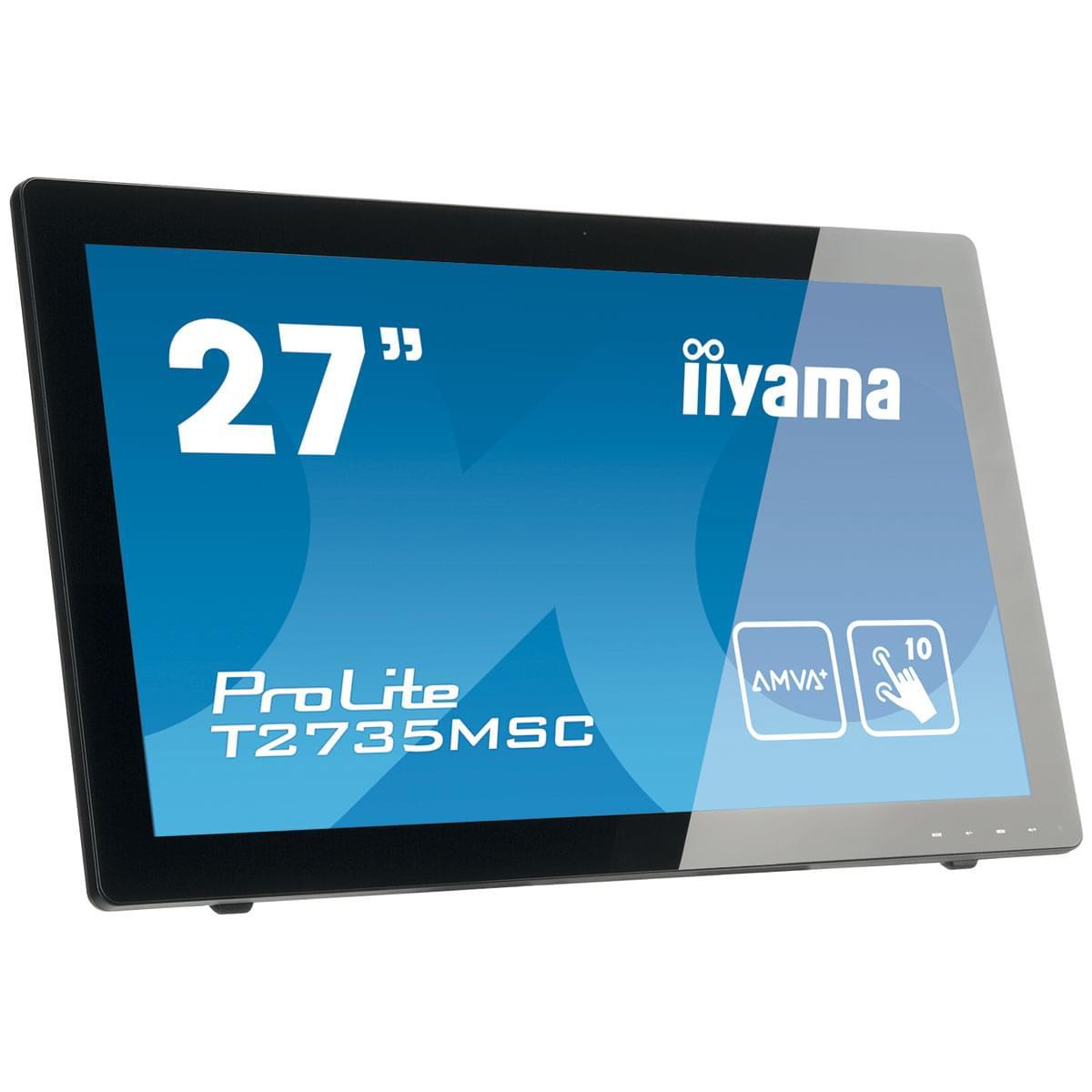 "Iiyama 27""  T2735MSC-B2 - Ecran PC Iiyama - Cybertek.fr - 0"