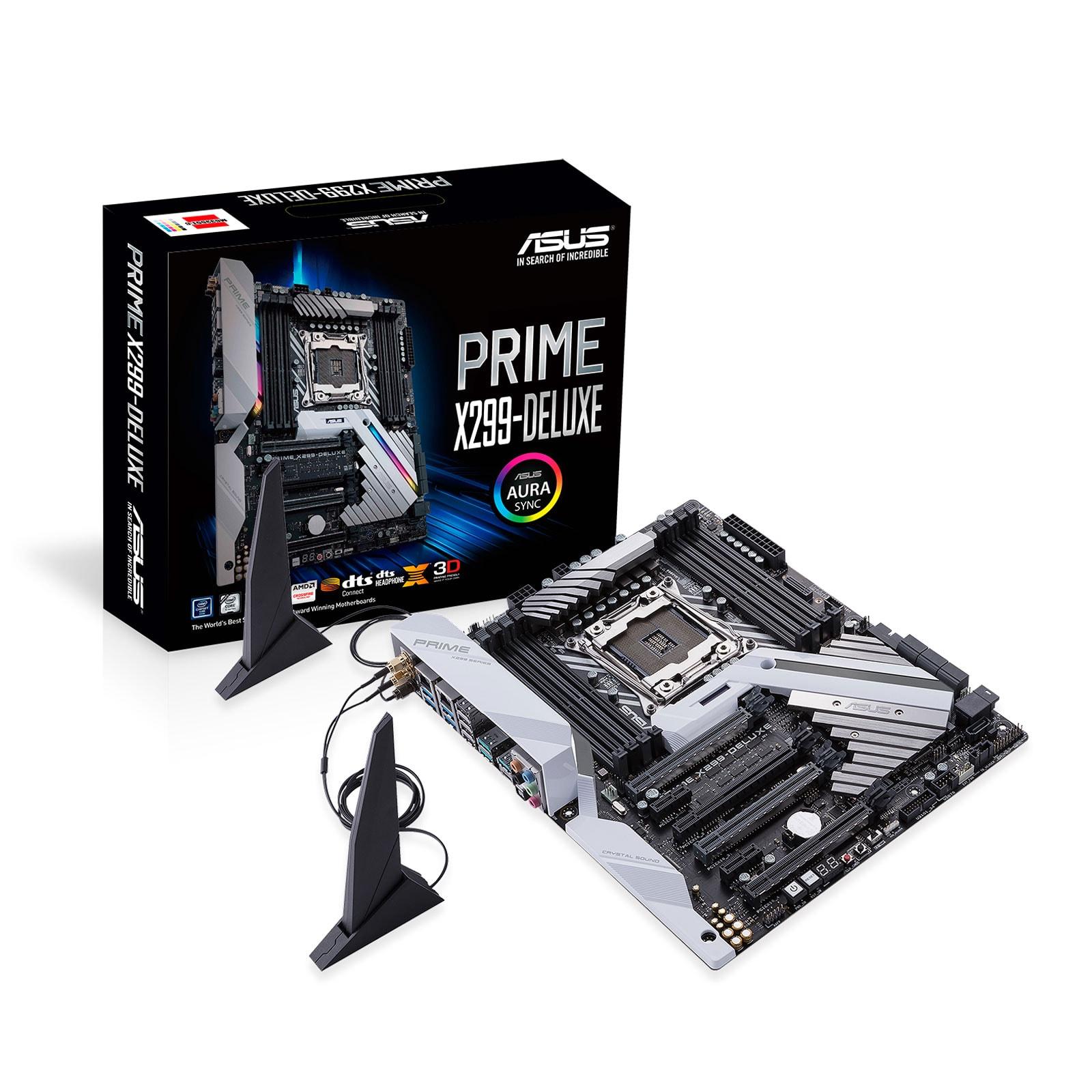 Asus PRIME X299 DELUXE ATX DDR4 - Carte mère Asus - Cybertek.fr - 0