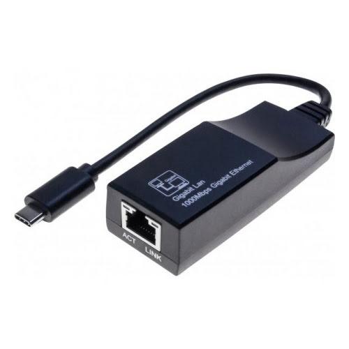 Adaptateur RJ45 Gigabit Femelle / USB 3.1 type C  - 0