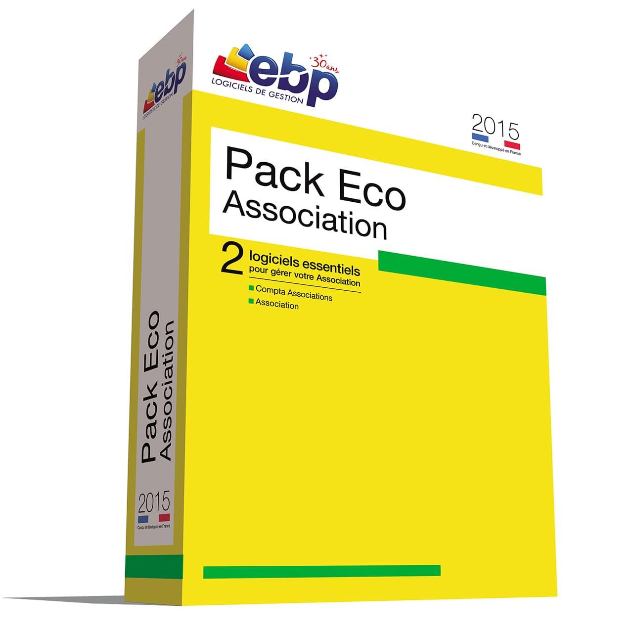 EBP Pack Eco Association 2015 (1166J070FAL) - Achat / Vente Logiciel application sur Cybertek.fr - 0