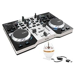Hercules Table de mixage DJControl Instinct Party Pack Cybertek