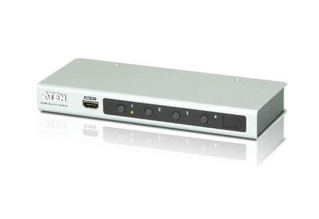 Commutateur HDMI 4K 4 Entrées/1 sortie + RS232 - Commutateur Aten - 0