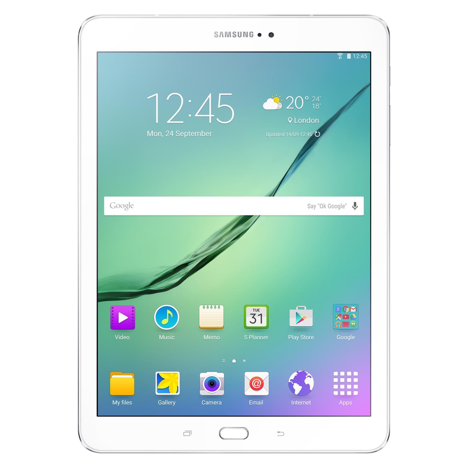 Tablette Samsung Galaxy TAB S2 32Go blanc Wifi autonomie 12h - T810NZW - 0