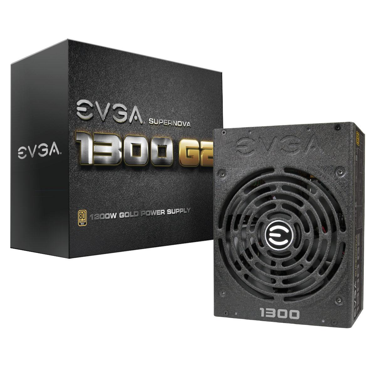 EVGA Full Modulaire 80+ Gold (1300W) - Alimentation EVGA - 0