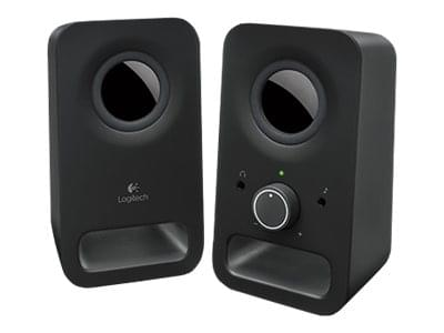 Logitech 2HP Z150 Midnight Black - Enceinte PC Logitech - 0