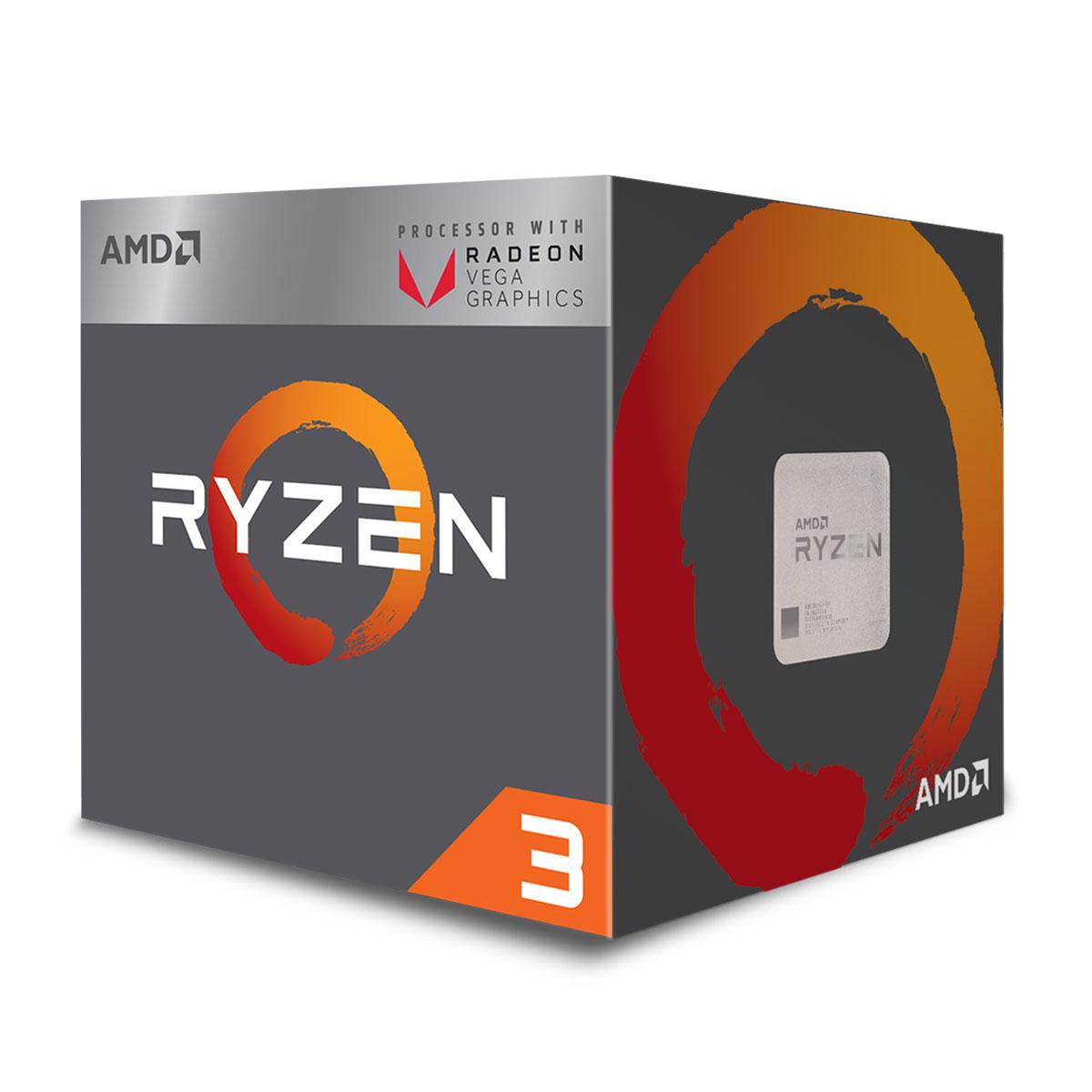 AMD Ryzen 3 2200G - 3.7GHz - Processeur AMD - Cybertek.fr - 1