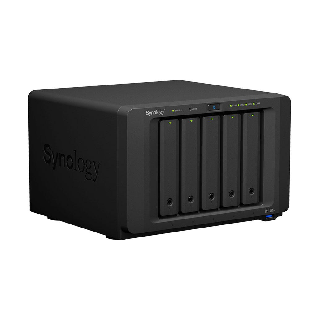 Synology DS1517+ 8Go - 5 HDD - Serveur NAS Synology - Cybertek.fr - 3