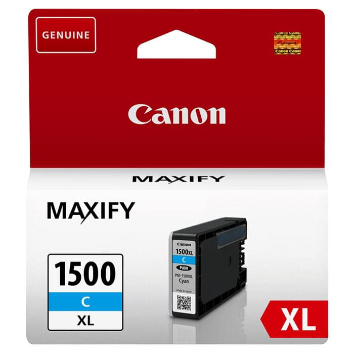 Canon Cartouche PGI-1500XL Cyan (9193B001) - Achat / Vente Consommable Imprimante sur Cybertek.fr - 0