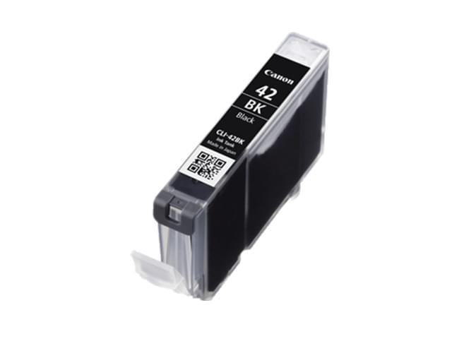 Cartouche CLI-42 BK Noir - 6384B001 pour imprimante Jet d'encre Canon - 0