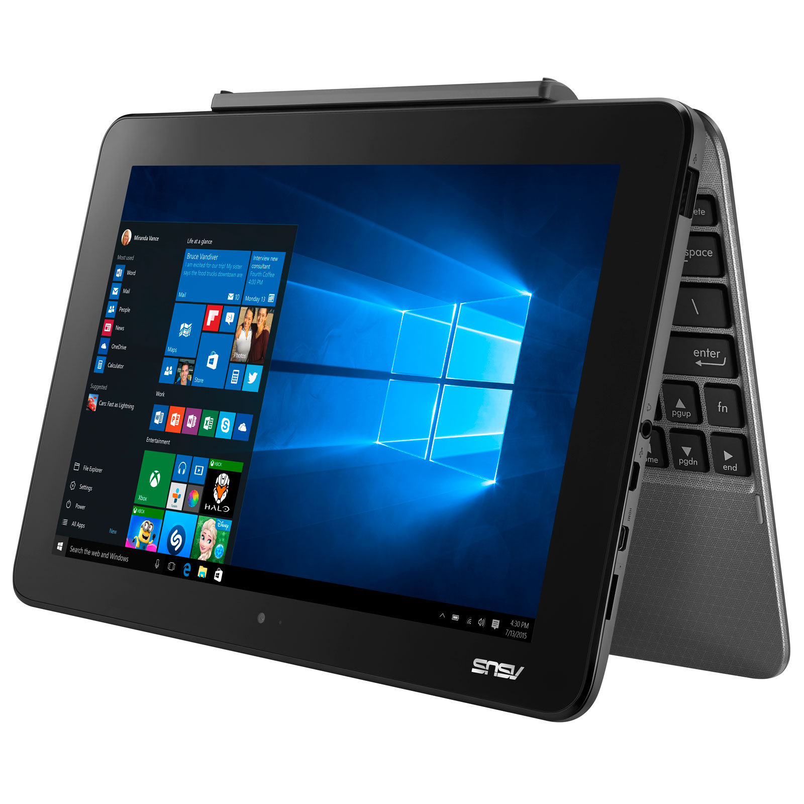 Asus T101HA-GR029RB - PC portable Asus - Cybertek.fr - 2