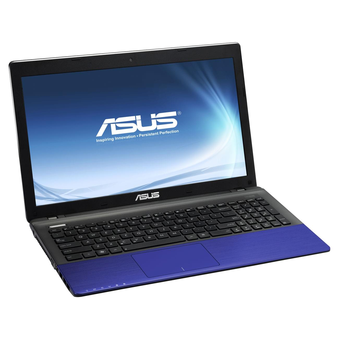 Asus K55VD-SX202V Bleu (K55VD-SX202V) - Achat / Vente PC portable sur Cybertek.fr - 0