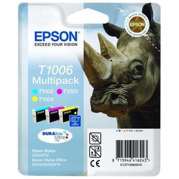 Epson Multipack 3 couleurs T1006 (C13T10064010) - Achat / Vente Consommable Imprimante sur Cybertek.fr - 0
