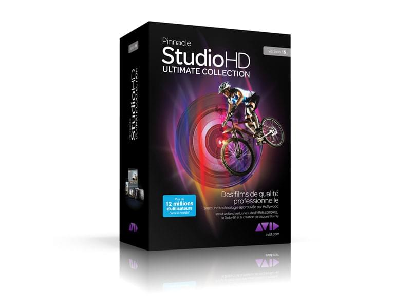 Pinnacle Studio HD Ultimate Collection 15 (30075-01) - Achat / Vente Logiciel application sur Cybertek.fr - 0