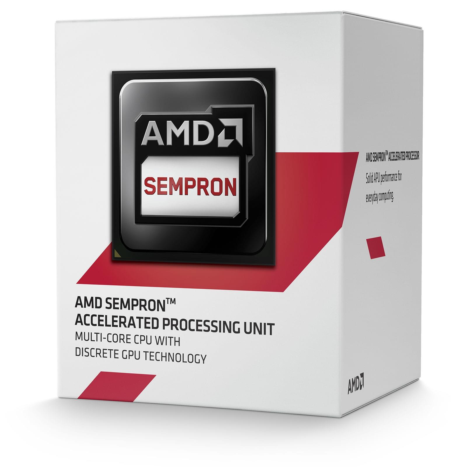 AMD Sempron 3850 (SD3850JAHMBOX) - Achat / Vente Processeur sur Cybertek.fr - 0