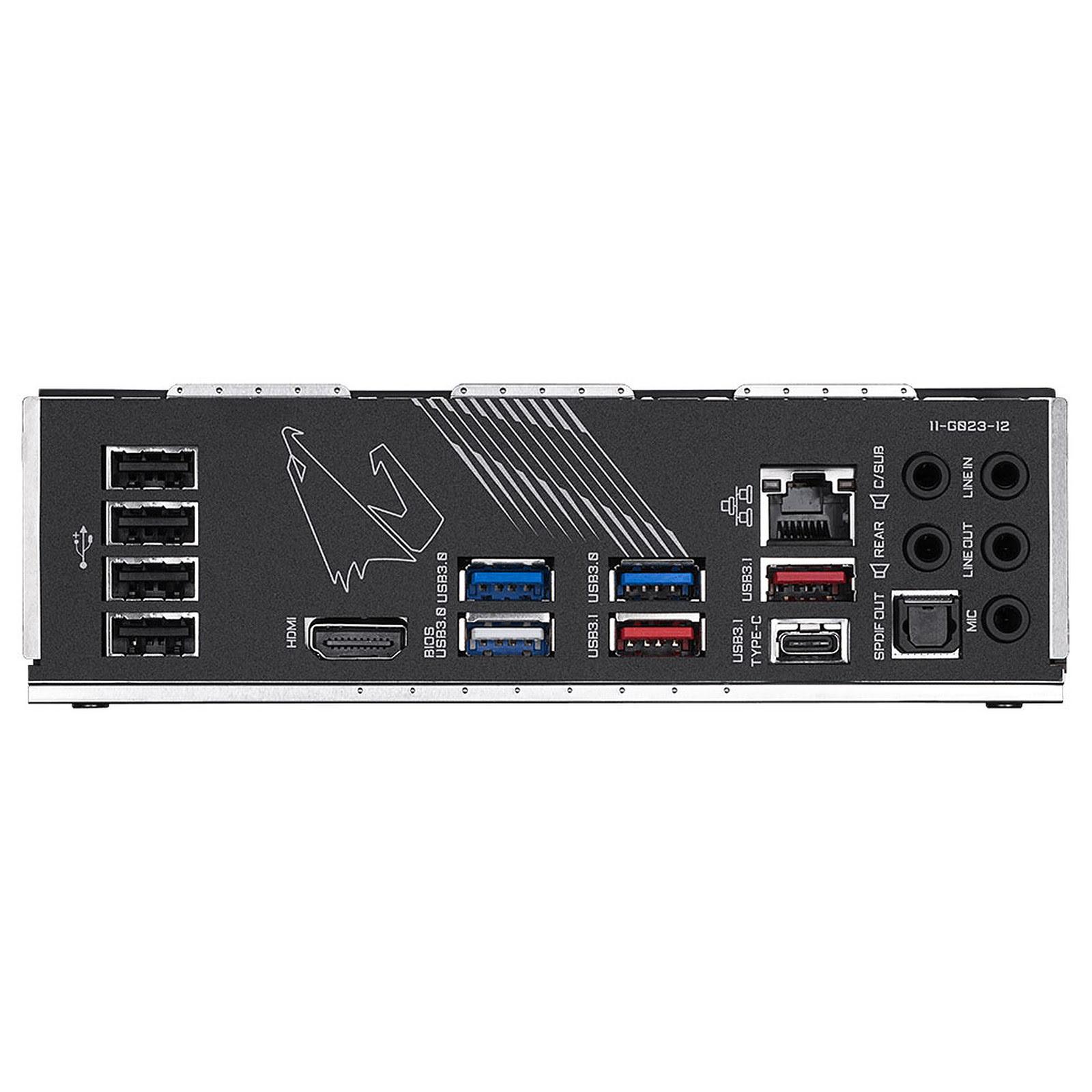 Gigabyte X570 AORUS PRO ATX DDR4 - Carte mère Gigabyte - 1