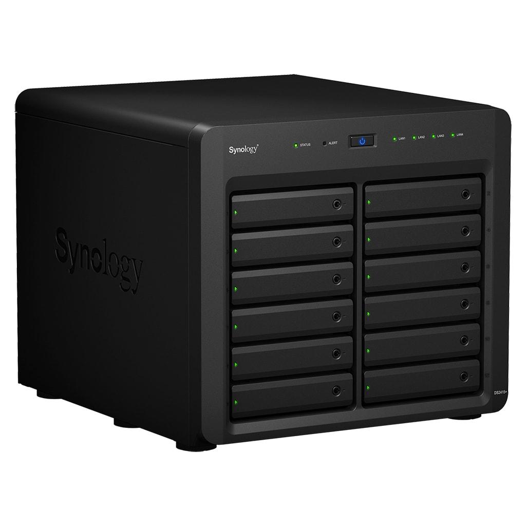 Synology DS2415+ - 12 HDD - Serveur NAS Synology - Cybertek.fr - 0