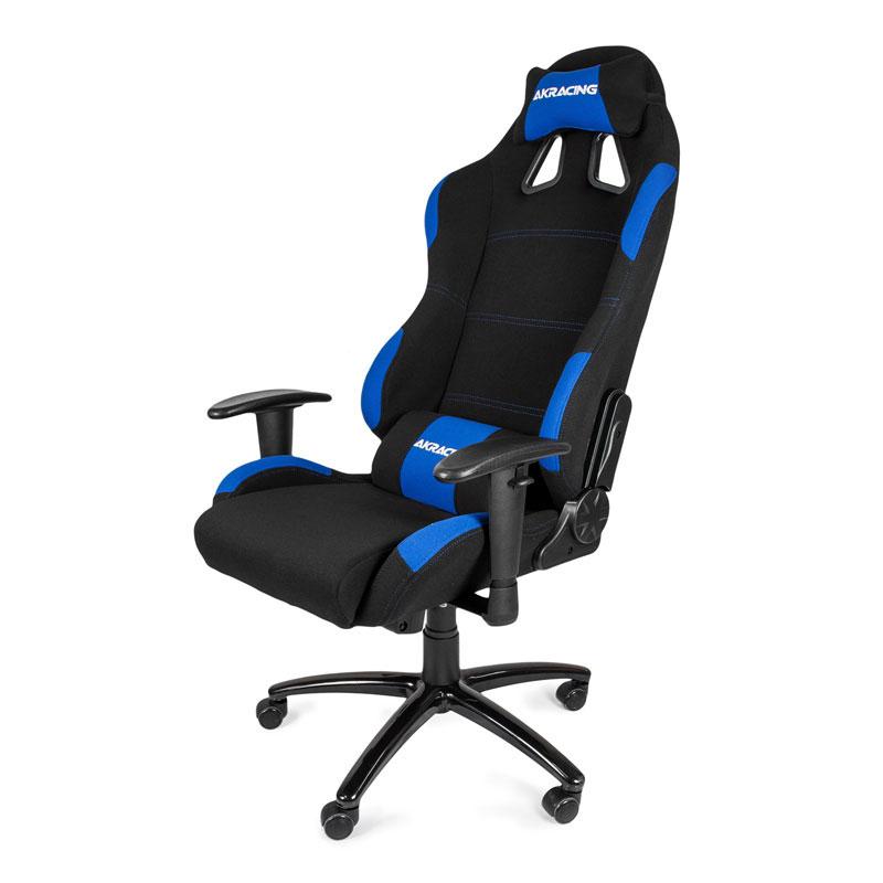 AKRacing Gaming Chair K7012 Noir/Bleu - Siège PC Gamer - 1