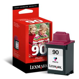 Lexmark Cartouche N°90 Photo (12A1990E) - Achat / Vente Consommable Imprimante sur Cybertek.fr - 0
