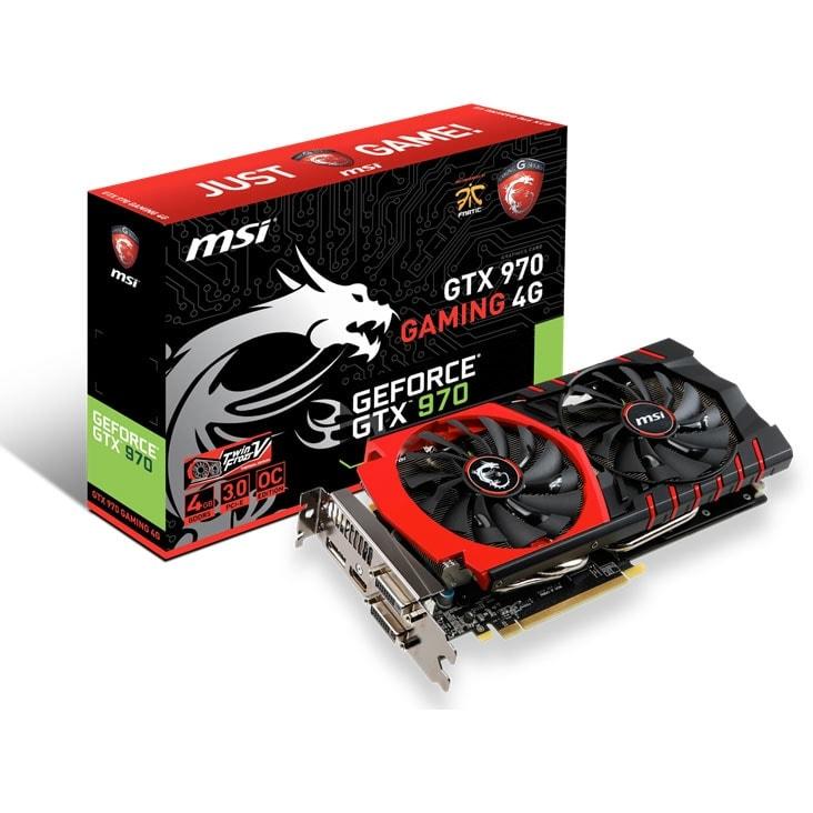 MSI  - 4Go - carte Graphique pour Gamer - GPU nVidia - 0