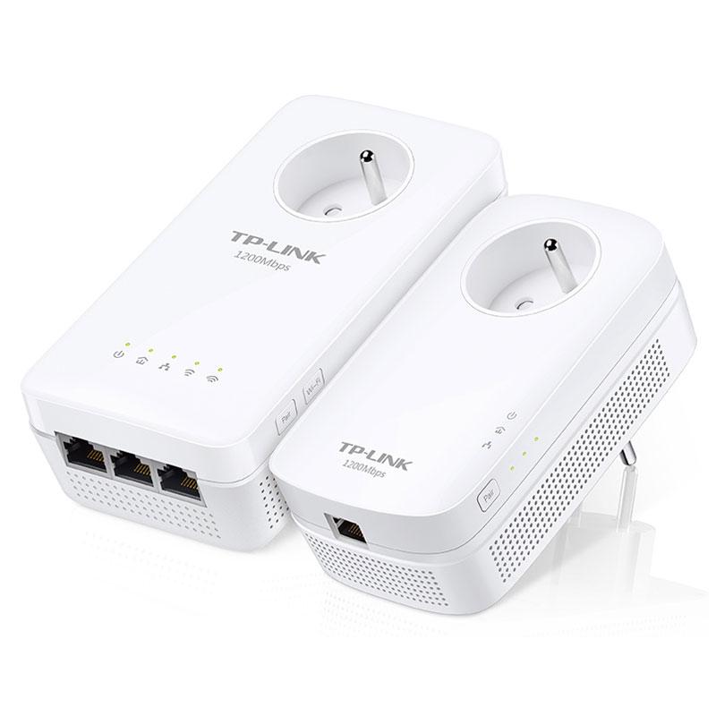TP-Link TL-WPA8635P KIT (1200Mb) WiFi AC - Pack de 2 - Adaptateur CPL - 0